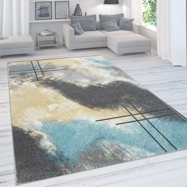 Rug Colour Gradient Pastel Colours Abstract