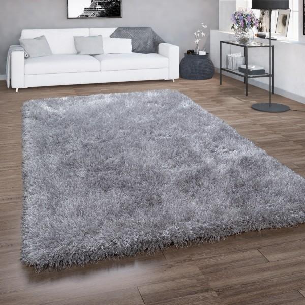 Deep-Pile Rug Living Rooms Shaggy Glitter Yarn
