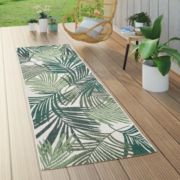 Tapijt voor binnen en buiten palmendesign