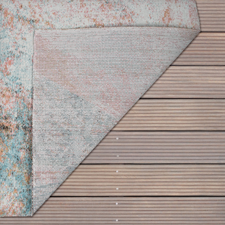 Outdoor Teppich Terrasse Balkon Abstraktes Muster