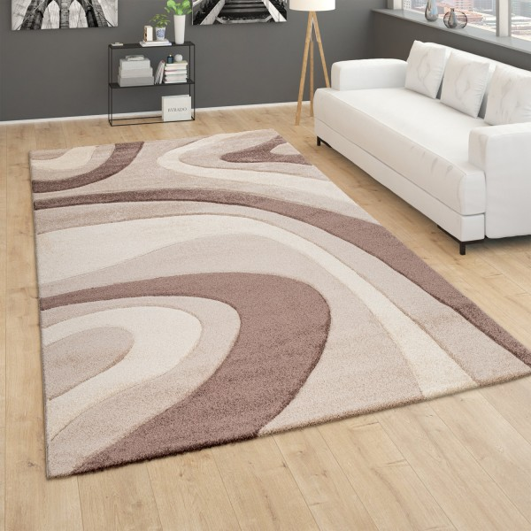 Rug Bedroom Abstract Wave Pattern