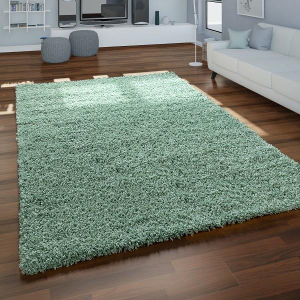 Deep-Pile Rug Living Room Soft Beige