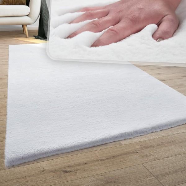 Teppich Wohnzimmer Plüsch Shaggy Waschbar