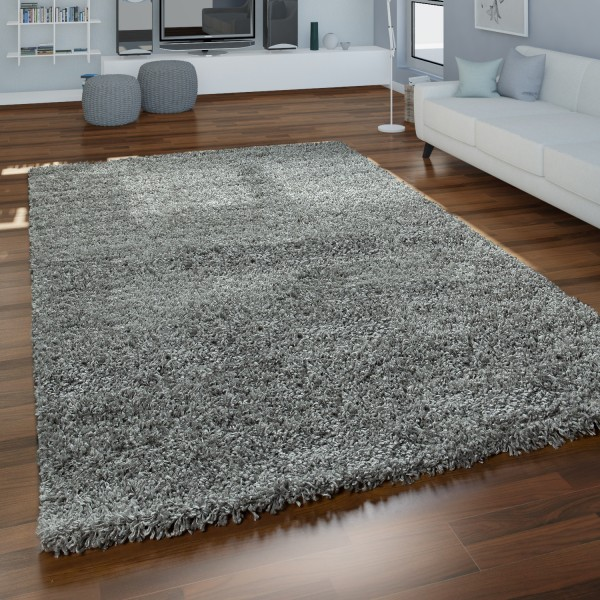 Shaggy-Teppich Hochflor Wohnzimmer Weich