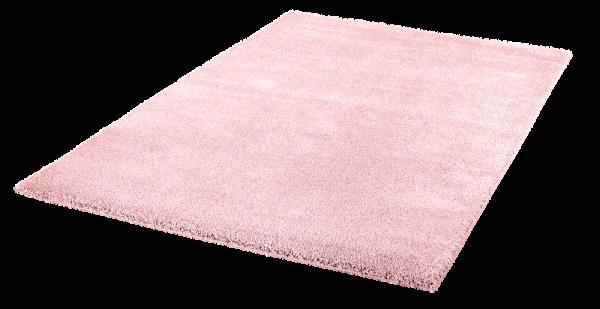 Kurzflor Teppich Hochwertig Einfarbig Pink