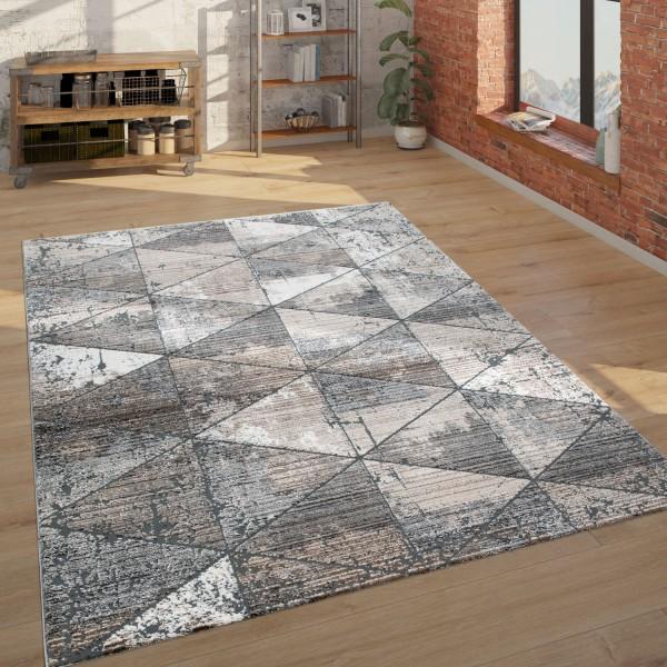 Rug Ethnic Design 3D Look Living Rooms