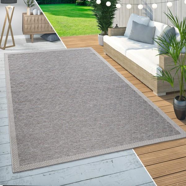 In-& Outdoor Teppich Modernes Rauten Muster