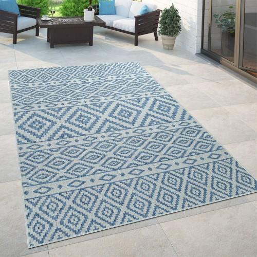 Teppich Wohnzimmer Rauten Muster Stein Look 3-D