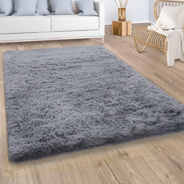 Hochflor Teppich Wohnzimmer Shaggy Flauschig