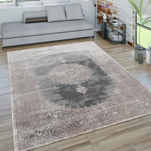 Teppich Orient-Look 3-D-Effekt Wohnzimmer
