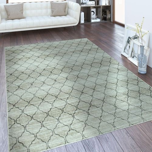 Designer Teppich Romantik Design Creme
