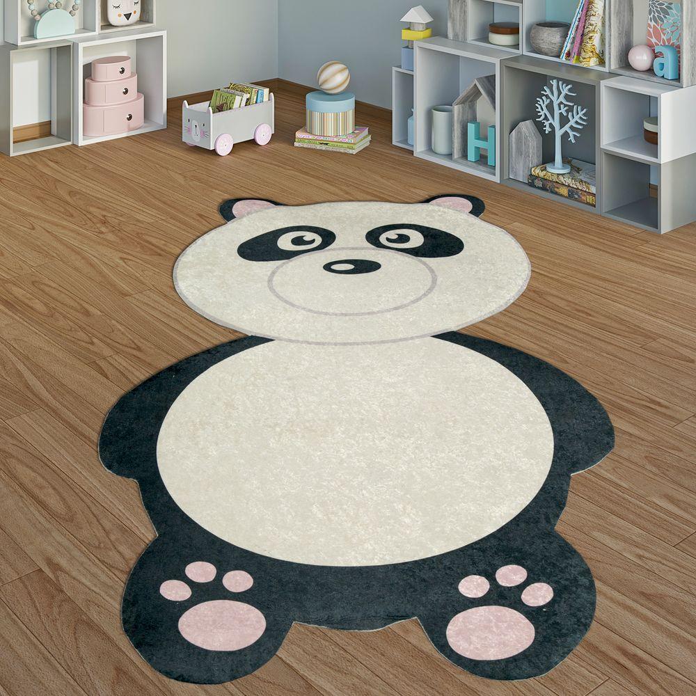 Spielteppich Kinderzimmer Pandabär Jungen Mädchen