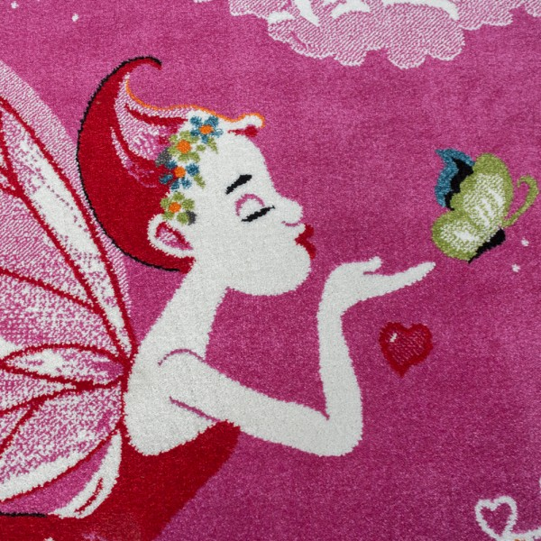 Kinderteppich Zauberfee Prinzessin Mädchen Süß   teppich.de