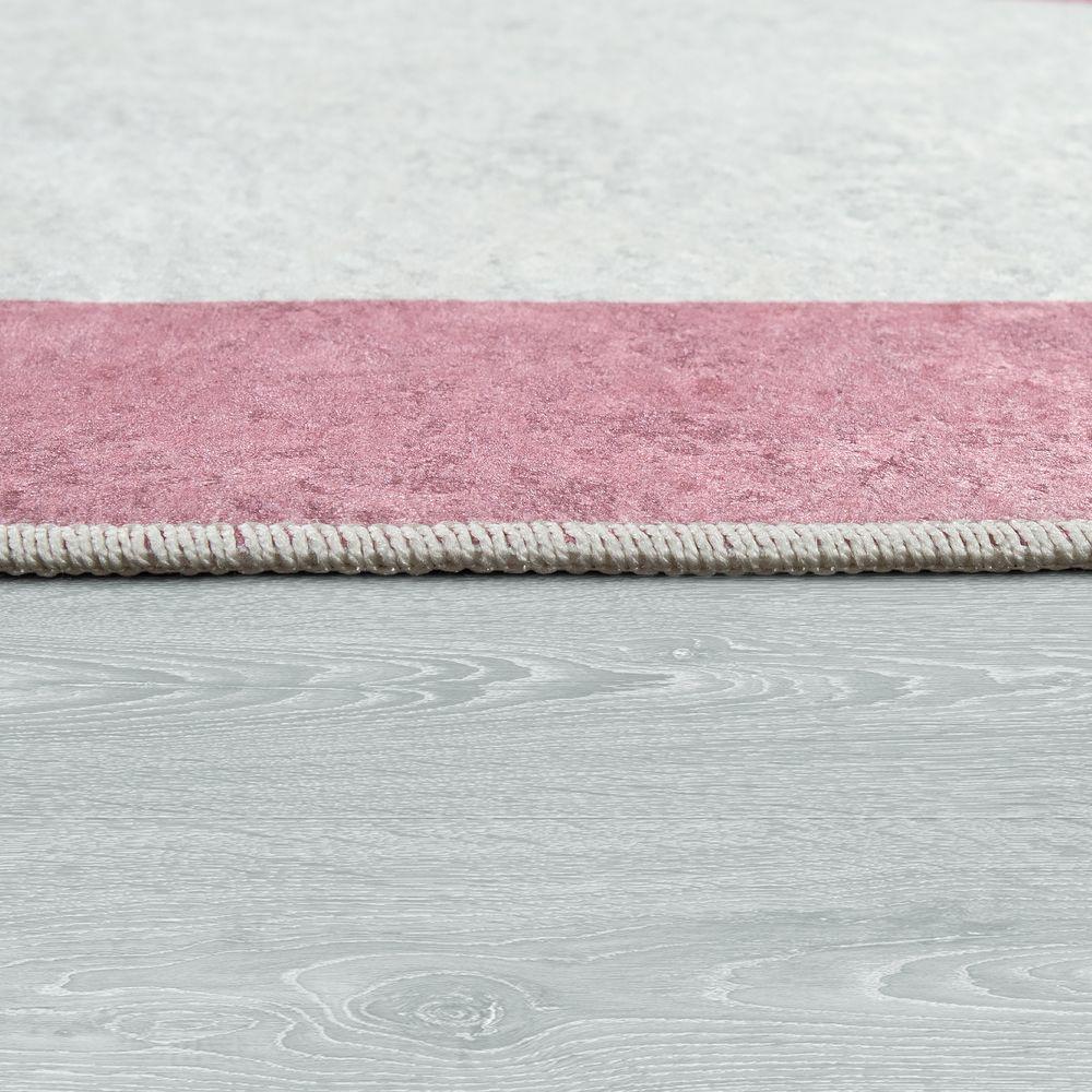 Spielteppich Kinderzimmer Prinzessin Motiv Spruch Pink