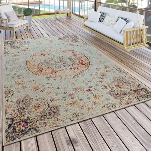 Outdoor Teppich Modern Orient Print Terrasse