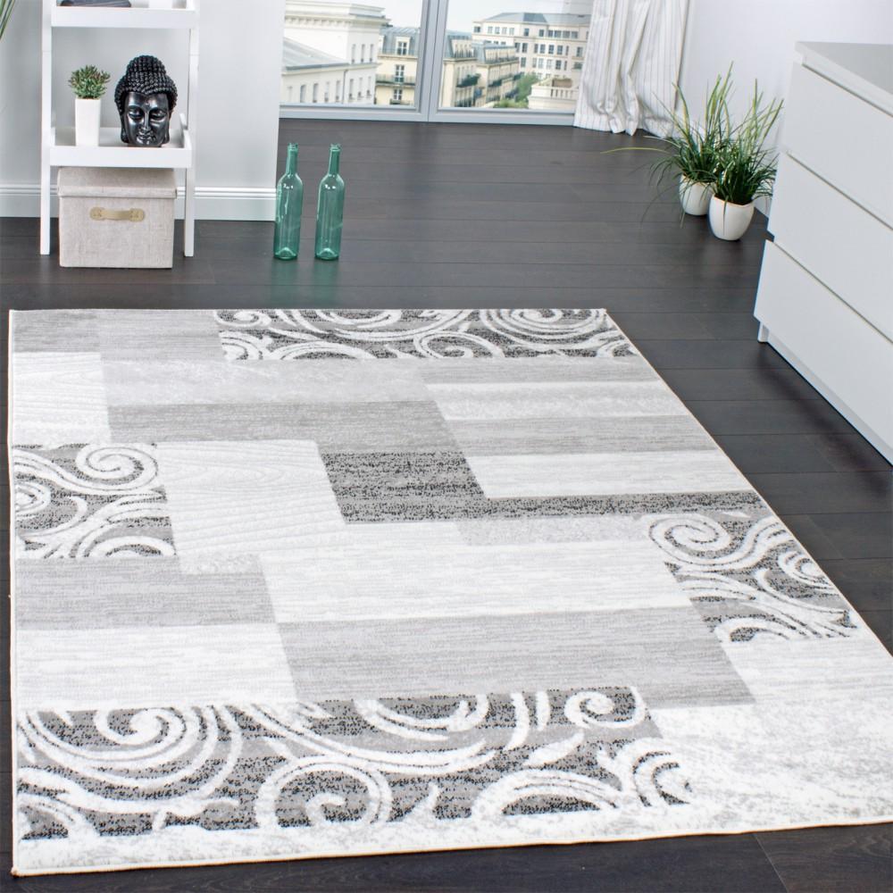 Teppich Wohnzimmer Meliert Kurzflor