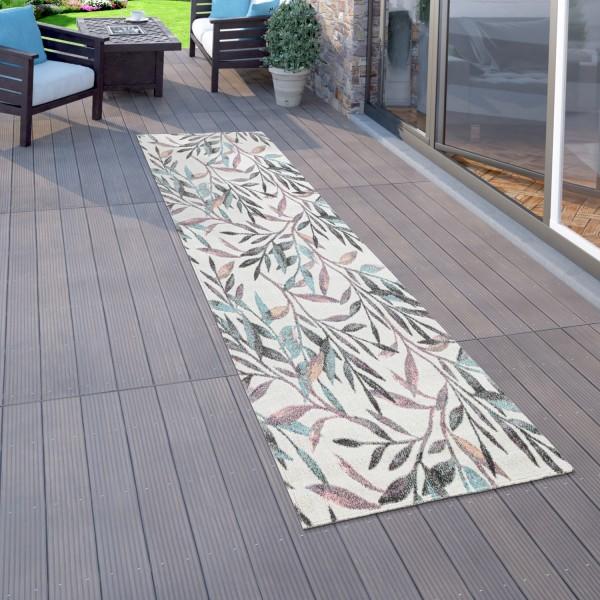 Outdoorteppich, Terrasse U. Balkon, Pflanzen Motiv