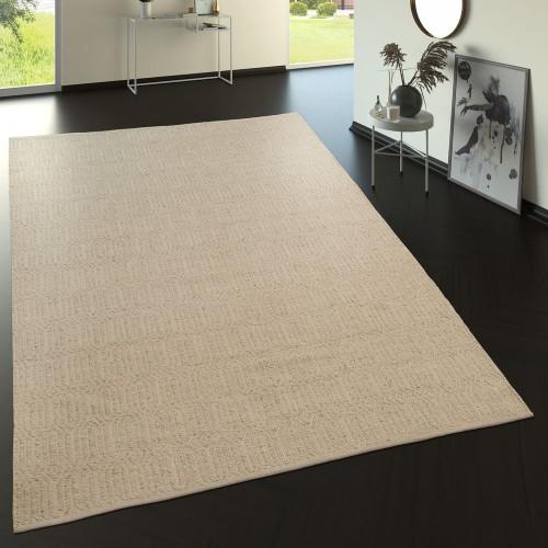 Teppich Wohnzimmer Skandi Design Flachgewebe