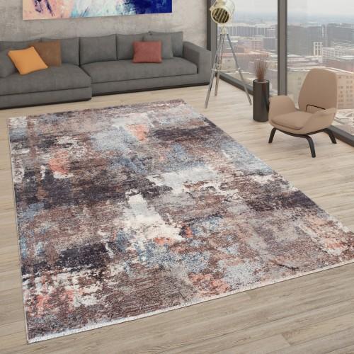 Designer-Teppich Wohnzimmer Used-Look