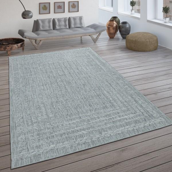In- & Outdoor-Teppich mit Skandi-Design