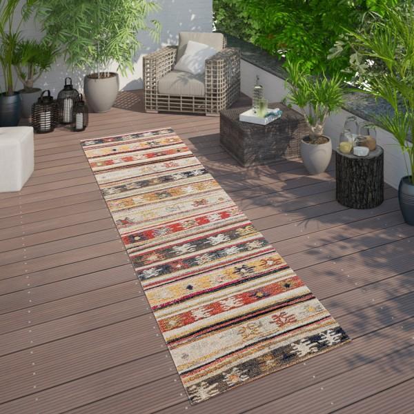 Outdoor Teppich Jelle Print Terrasse Wetterfest