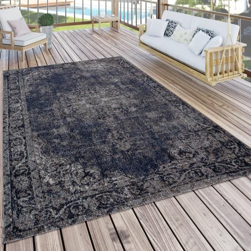 In- & Outdoor-Teppich Orient-Look Balkon Terrasse
