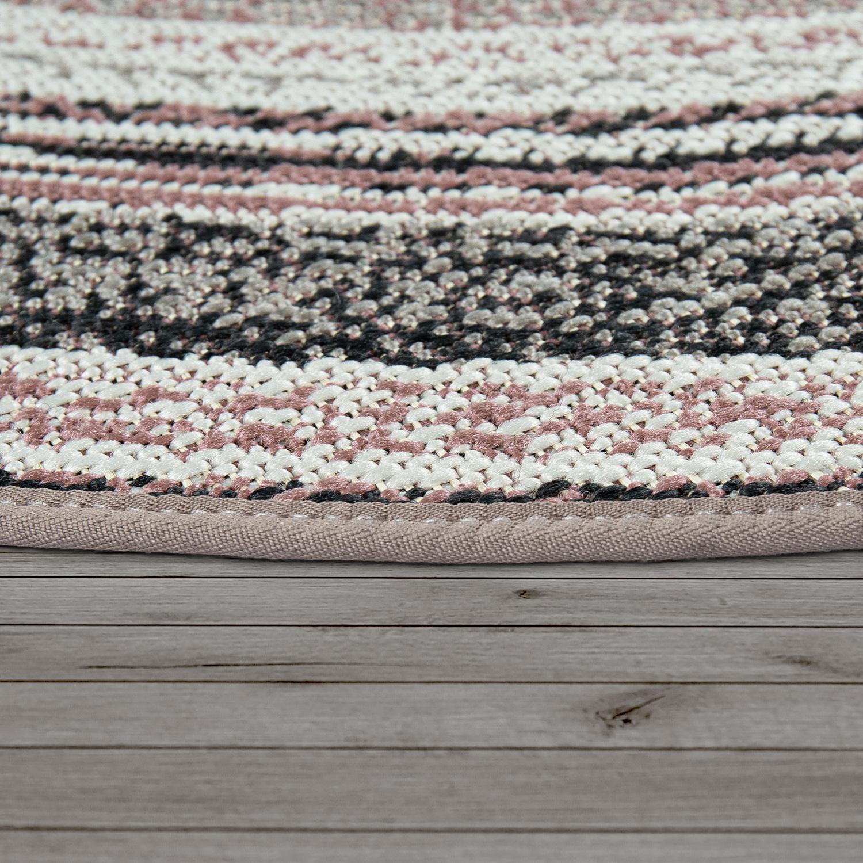 runder in outdoor teppich f r balkon ethno