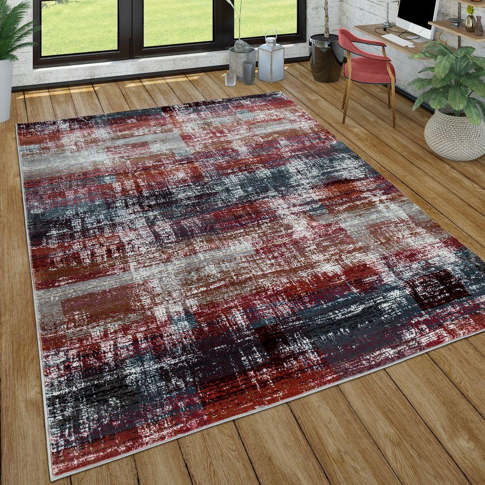 wohnzimmer teppich used look design vintage  teppichde
