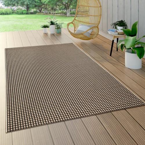 Outdoor Flachgewebe Teppich Sisal Natürlich