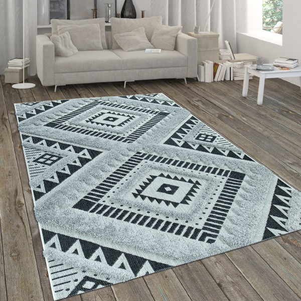 In- & Outdoor-Teppich Flachgewebe Mit Ethno-Muster
