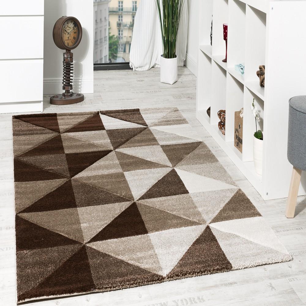 Wohnzimmer Teppich Piramid Design Modern
