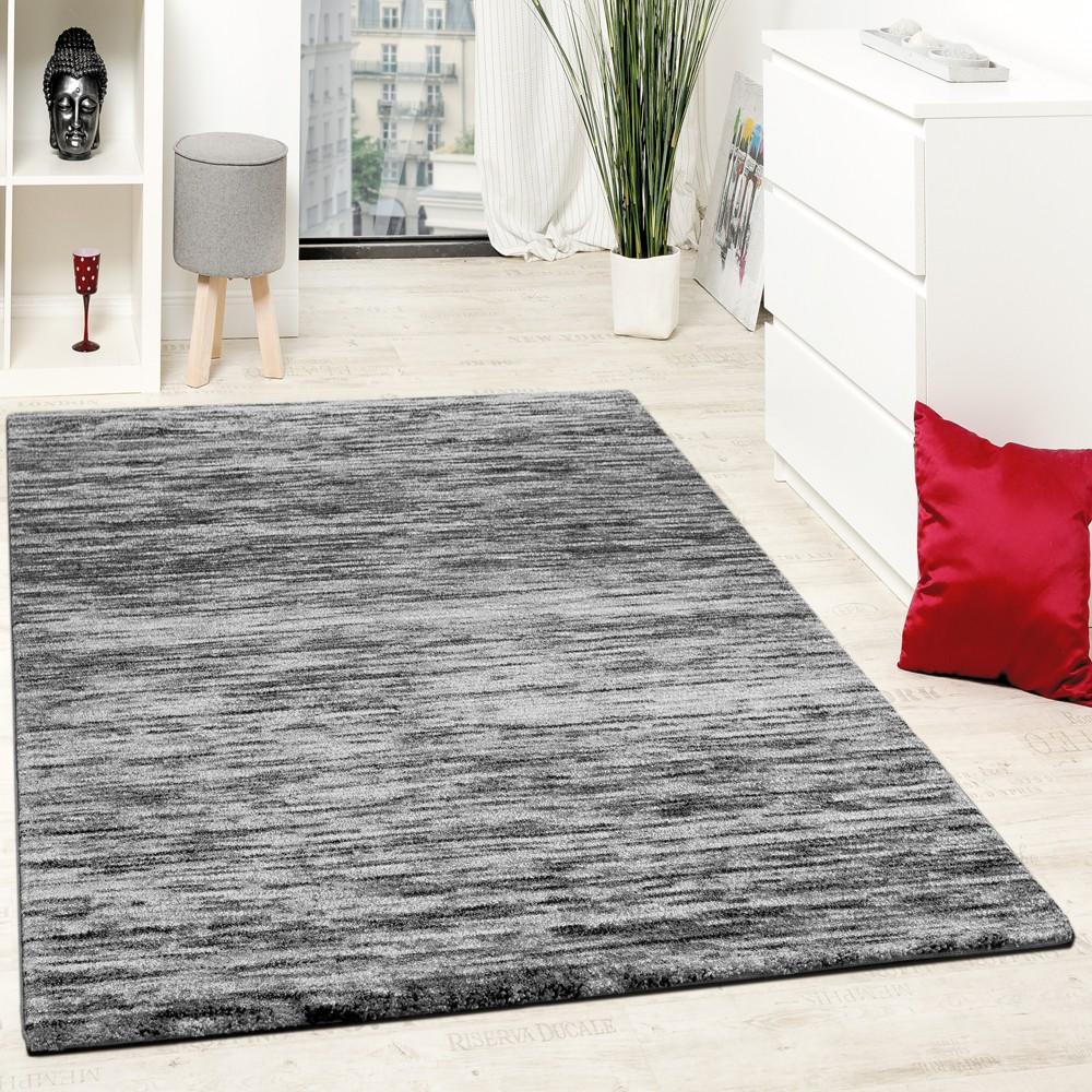 Teppiche Wohnzimmer Meliertes Design Kurzflor