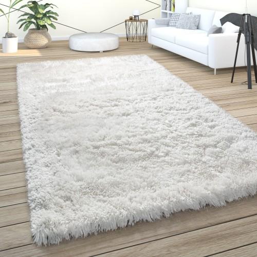 Teppich Wohnzimmer Hochflor Shaggy Weich