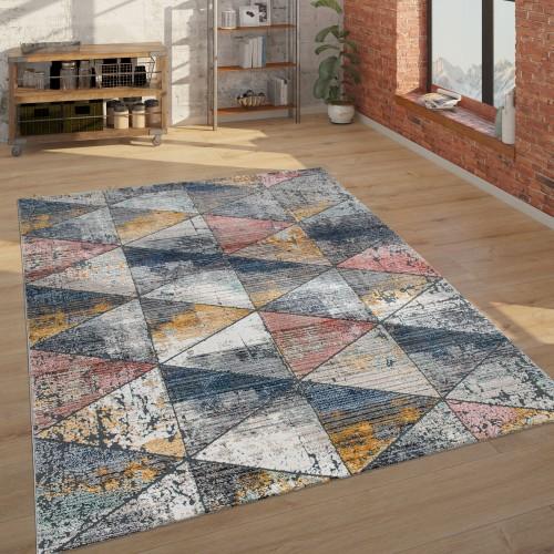 Teppich Ethno-Design 3-D-Look Wohnzimmer