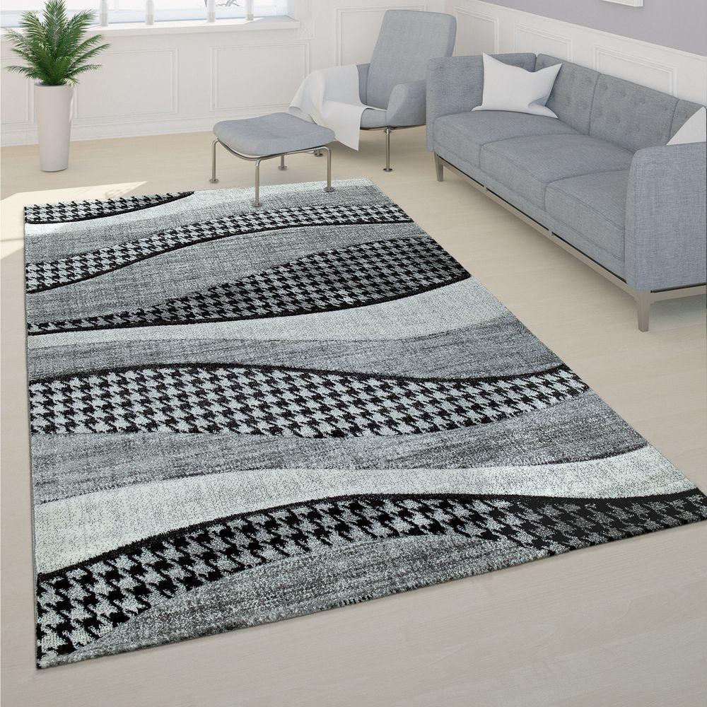 Teppich Wohnzimmer Handgearbeitet 3-D Design