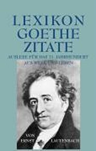 Lexikon Goethe Zitate Kreatives Gestalten Hobby Haus