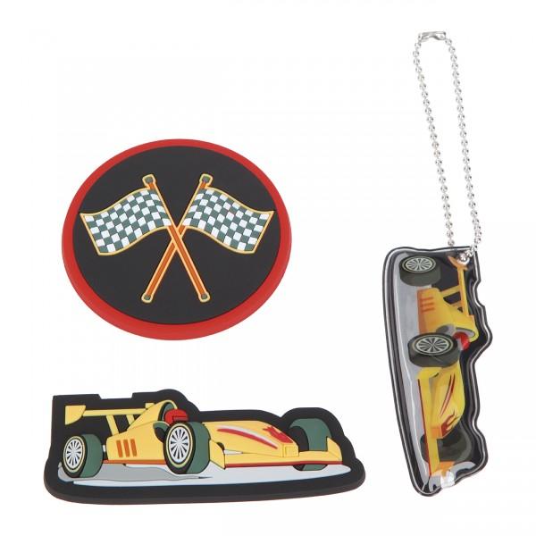 Magneti-Set 3tlg. RACECAR