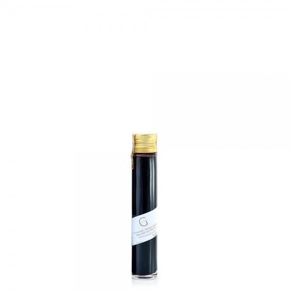 Schwarzer Johannisbeer Aperitif-Essig verfeinert mit Merlot 100ml (5% Säure)