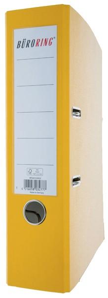 Ordner PP, A4, Rückenbreite 80mm, gelb