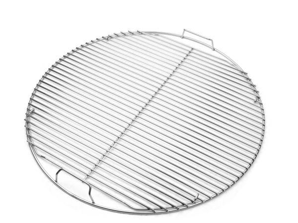Weber 7437 Edelstahl Grillrost BBQ 57 cm Durchmesser, klappbar
