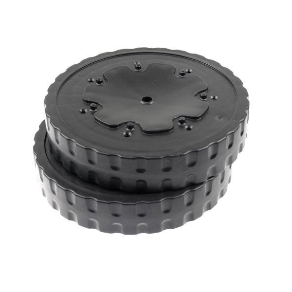 Weber Ersatzteil Radsatz für Performer, Performer Deluxe und OT Premium 57 cm bis 2014 ohne Radkappe